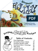 Keepsake Holiday Recipes