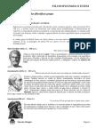 Filosofia Para o ENEM Professor Marcelo Mangini
