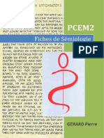 Medecine Semiologie Fiches Pcem2