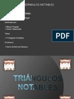 Principales triángulos notables