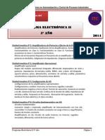 Programa de Electronica Taller II 5 Ano1