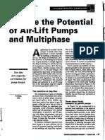 Potential of Air Lift Pumps