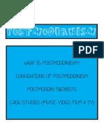 Postmodernism Case Studies Compilation