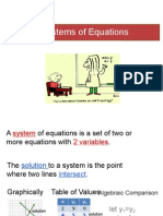 systems of equations proulx
