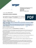 Schlumberger Contract Agreement
