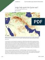 Did climate change help spark the Syrian war? | EurekAlert! Science News