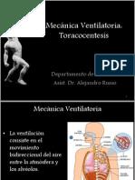 Mecánica Ventilatoria - BQ- FQ