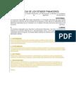Características estados financieros