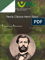 Teoría Clásica-Henri Fayol