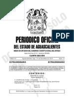 Ley de Ingresos Del Municipio de Ags. 2015