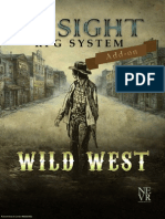 Wild West Insight RPG System Add-On
