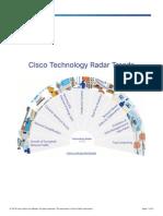 Tech Radar Trends Infographics