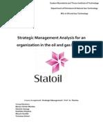 Strategic Analysis_Statoil