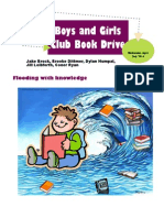 bsw boys and girls club book drive booklet