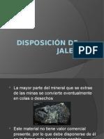 Disposición de Jales