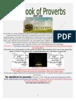 1the book of proverbs parts 1 through 4