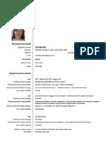 Curriculum Di Sola Mariella 2014