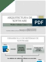 Clase Arquitectura de Software