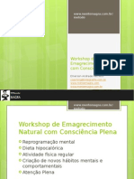 Workshop de Emagrecimento Natural Com Consciência Plena