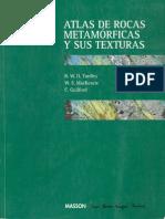 Atlas de Rocas Metamorficas y Sus Texturas