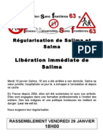 Régularisation de Salima Et Salma