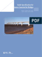 Eb233 Guide Specification for High Performance Concrete for Bridges
