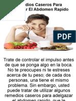 Remedios Caseros Para Adelgazar El Abdomen Rapido-PDF