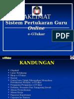 1_Penerangan Sistem Pertukaran Guru E_GTukar