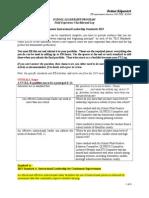 fx checklist