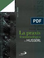 La Praxis Fenomenológica de Husser- Harry Reeder