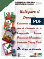 Cuadernillos de Apoyo 5c2b0 Prim Doc 2013 Chiapas