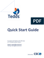 Tedds Quick Start Guide