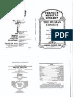 Human Comedy Script