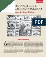 Fabelo, José R. Arte, Política y Sociedad de Consumo. El Caso de Andy Warhol - Memoria