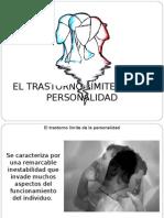 Trastorno Limite de La Personalidad - Aplicaciones Clinicas