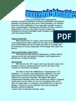 Trigonometric Identities Explained