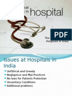 Unethical Practices in Hospitals