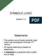 Symbolic Logic Dalesandro