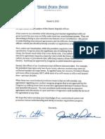 Senate Republican letter to Iran's leaders