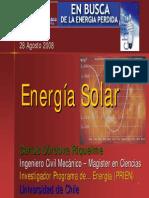Energ a SOLAR Carlos Cordova Riquelme