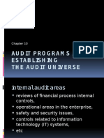 Assembling Audit Programs Ch10-3