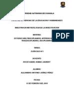 Estudios Interdiciplinarios