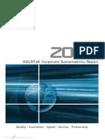 2008 Asustek Corporate Sustainability Report
