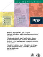 Risk_EN_FR_ES Working Principles for Risk Analysis for Food Safety for Application by Governments (1st Edition)