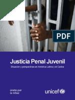 UNICEF Justicia Penal Juvenil en LAC
