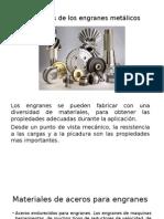 Materiales de Los Engranes Metálicos 1