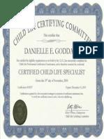 ccls certificate