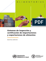 CCFICS_2012_ES Food Import and Export Inspection and Certification Systems - Combined Texts (5th Edition)