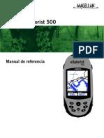 Manual  GPS Magellan eXplorist 500LE