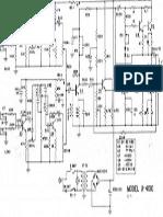 Univox U-4100 Amplifier Schematic